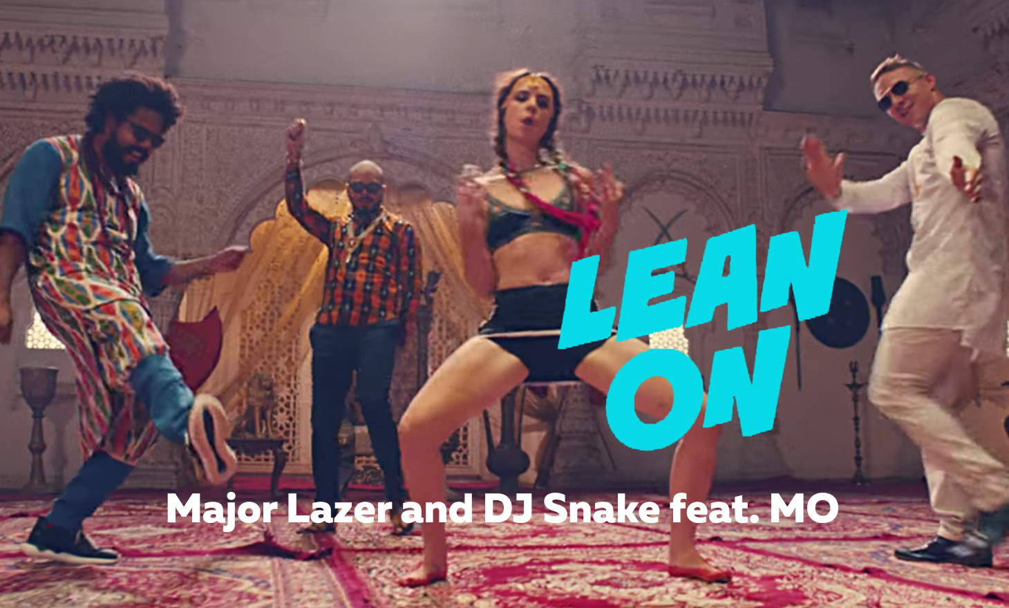 Lean On(リーン・オン):Major Lazer & DJ Snake feat. MØ