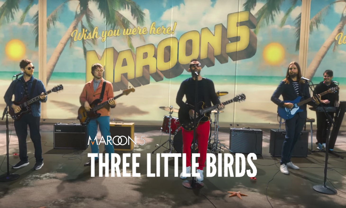 Maroon5 : Three Little Birds