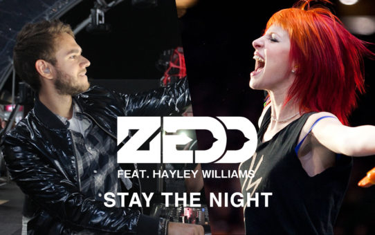 Zedd feat. Hayley Williams : Stay The Night