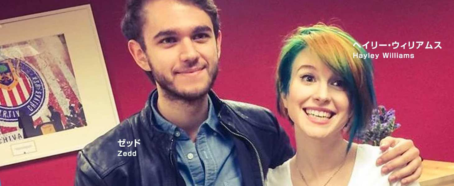 zedd and Hayley Williams
