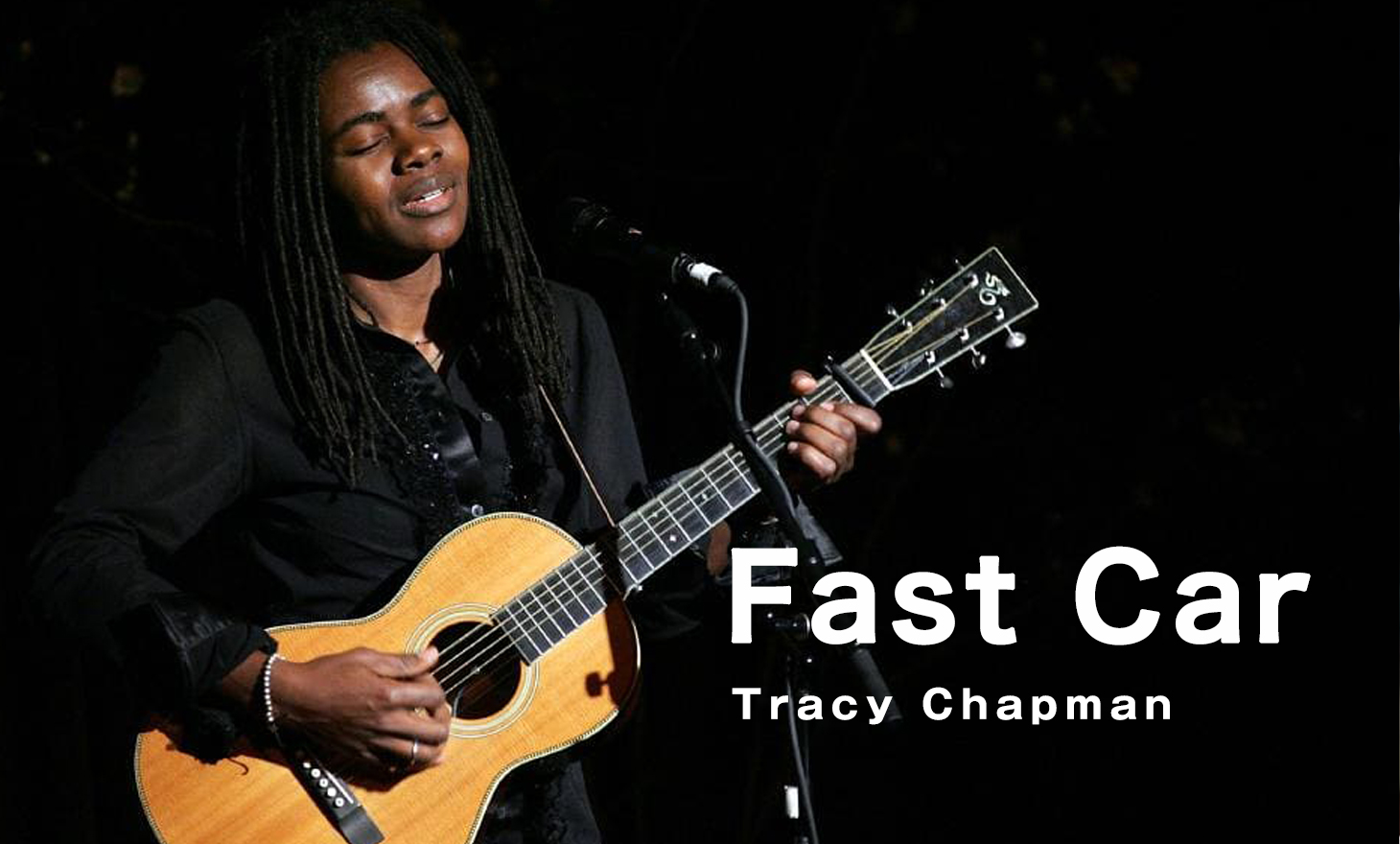 Tracy Chapman : Fast Car