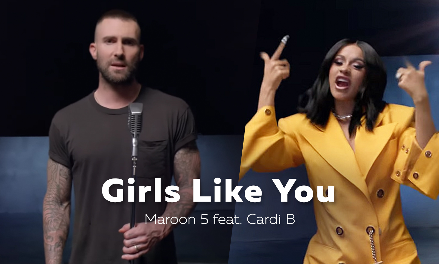 Maroon 5 : Girls Like You