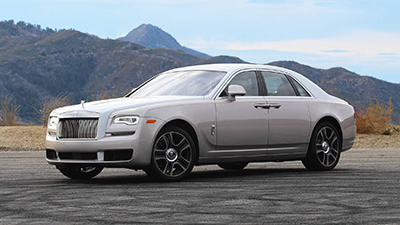 Rolls Royce: model Ghost