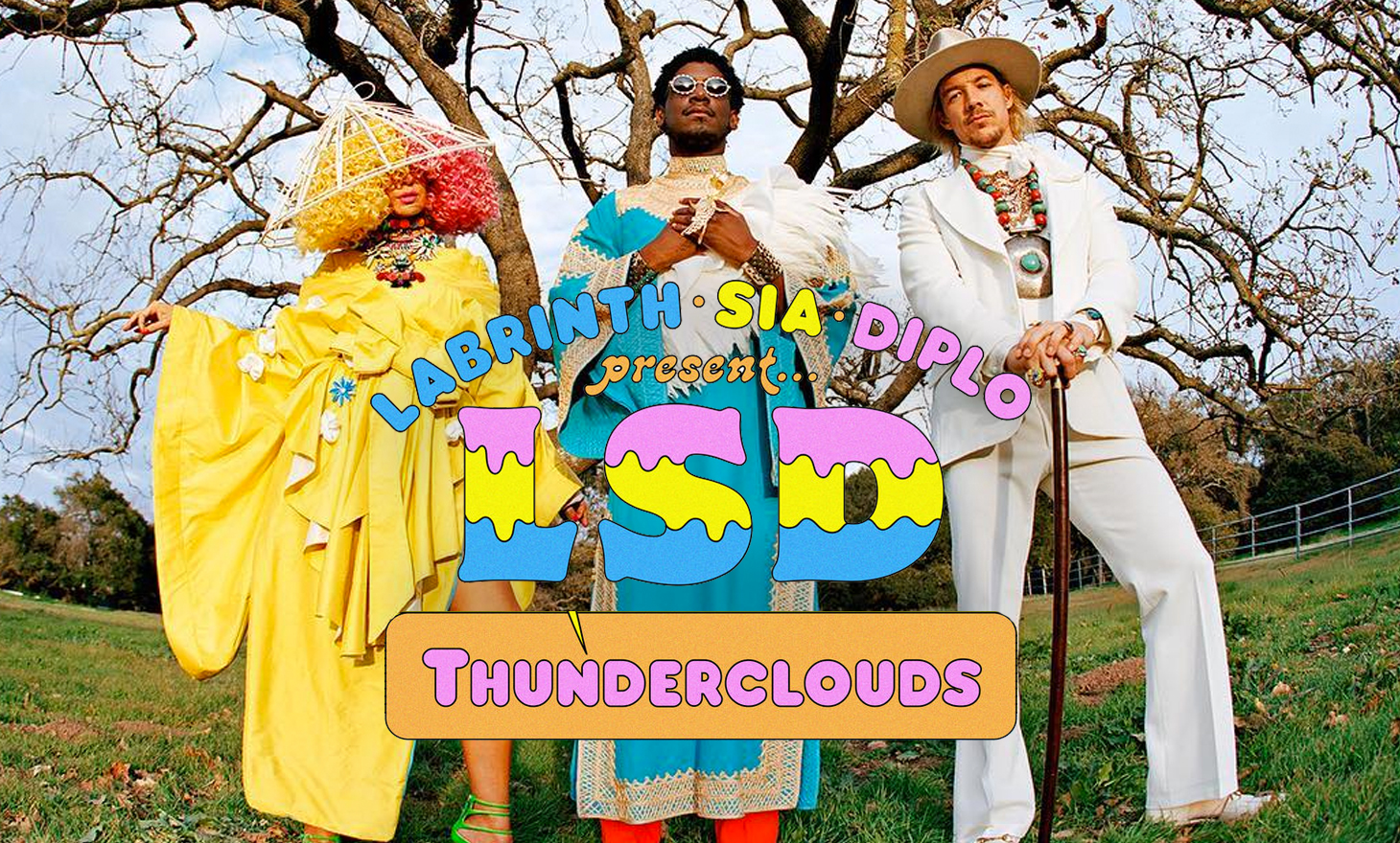 LSD : Thunderclouds