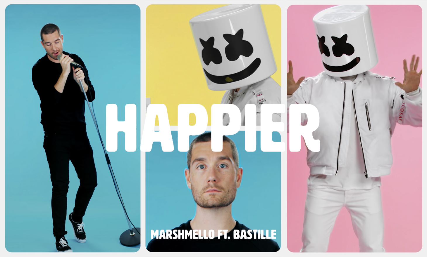 Marshmello and Bastille : Happier