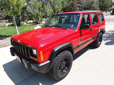 Jeep Cherokee in How Can I Forget