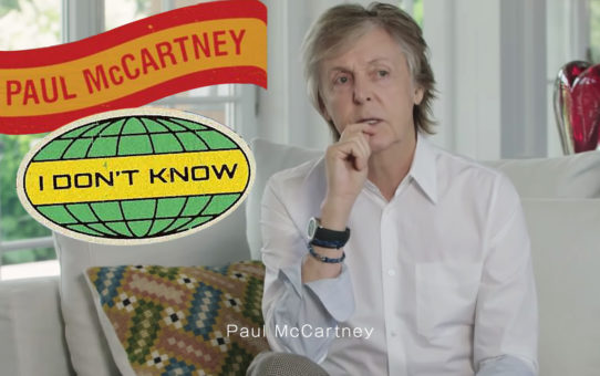Paul McCartney : I Don't Know