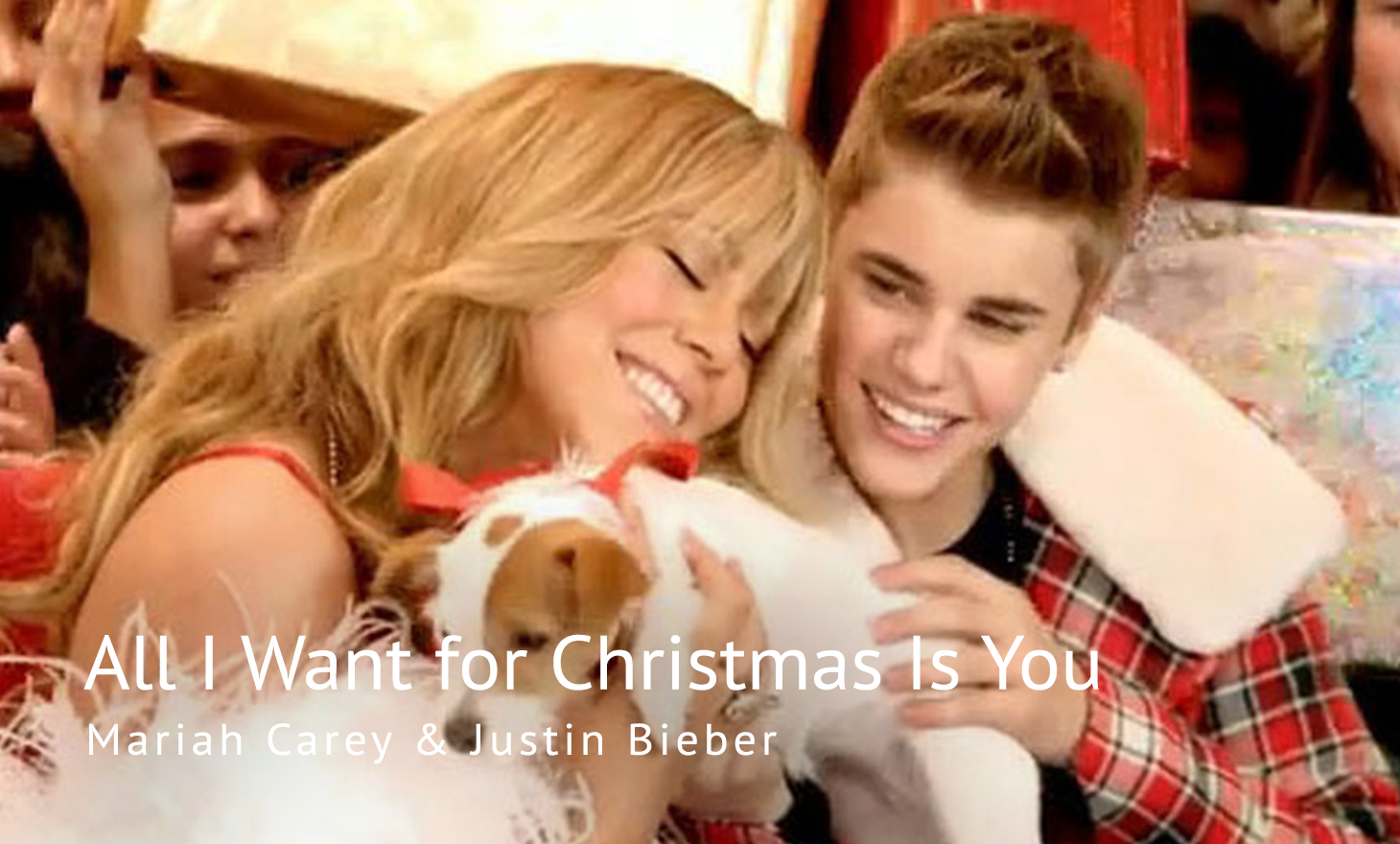 Mariah Carey & Justin Bieber : All I Want for Christmas Is You
