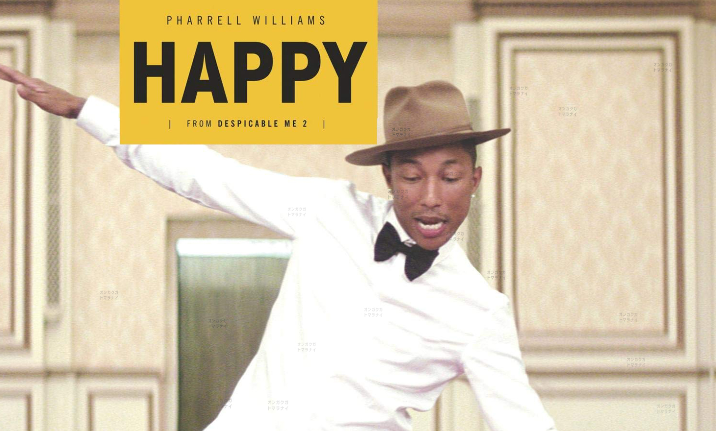 Pharrell Williams : Happy